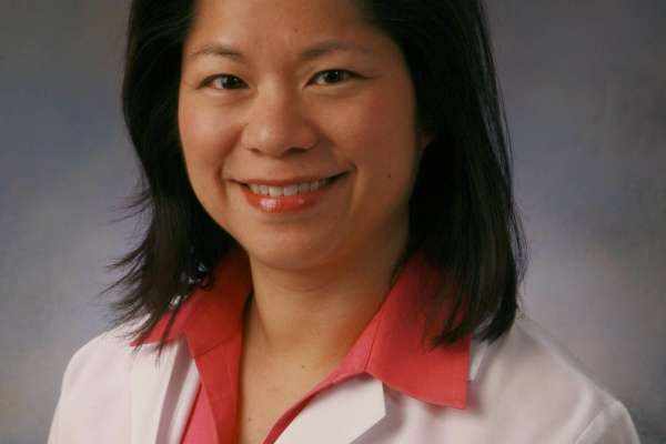 Emina Huang, M.D., a UF colorectal surgeon and associate professor of surgery