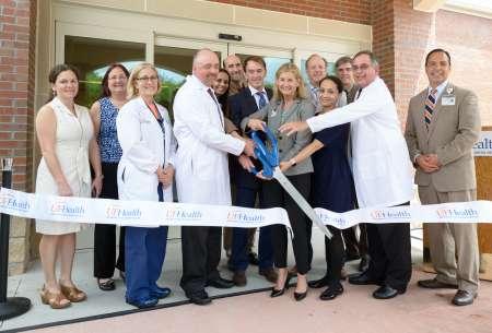 Ribbon cutting UF Health Children's Surgical Center