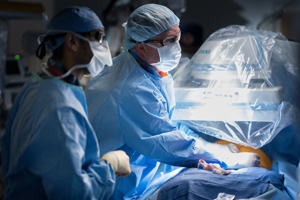 TAVR Surgery in OR