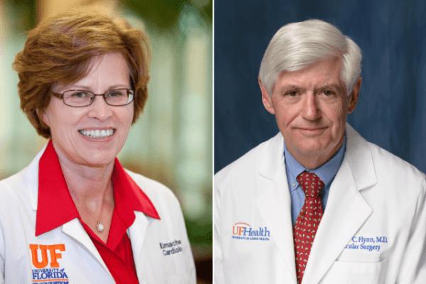 Headshot of Drs. Flynn and Limacher, headshots