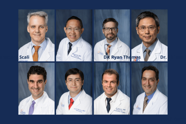 eight headshots of faculty members who received promotions in July 2021.