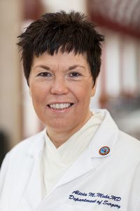 Alicia Mohr, M.D., Acute care surgeon, UF Dept of Surgery