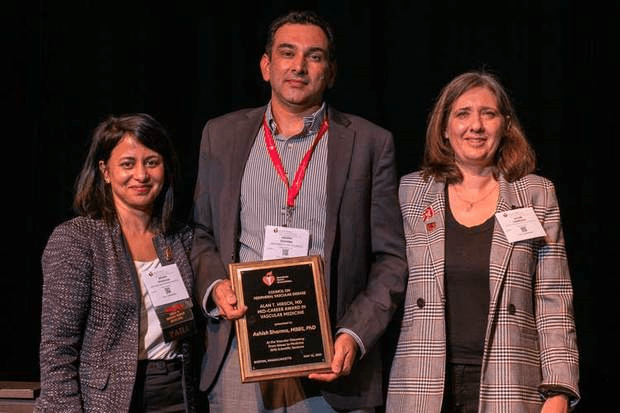 Ashish Sharma, M.D., Wins 2019 Alan T. Hirsch Award