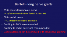 Bertelli nerve graft