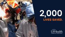 2000 lives saved